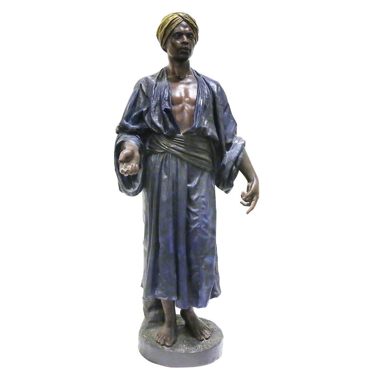 A Large 1930s Orientalist Statue-photo-2