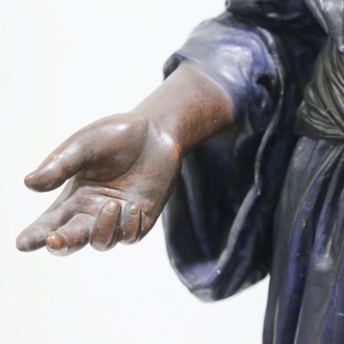 A Large 1930s Orientalist Statue-photo-1