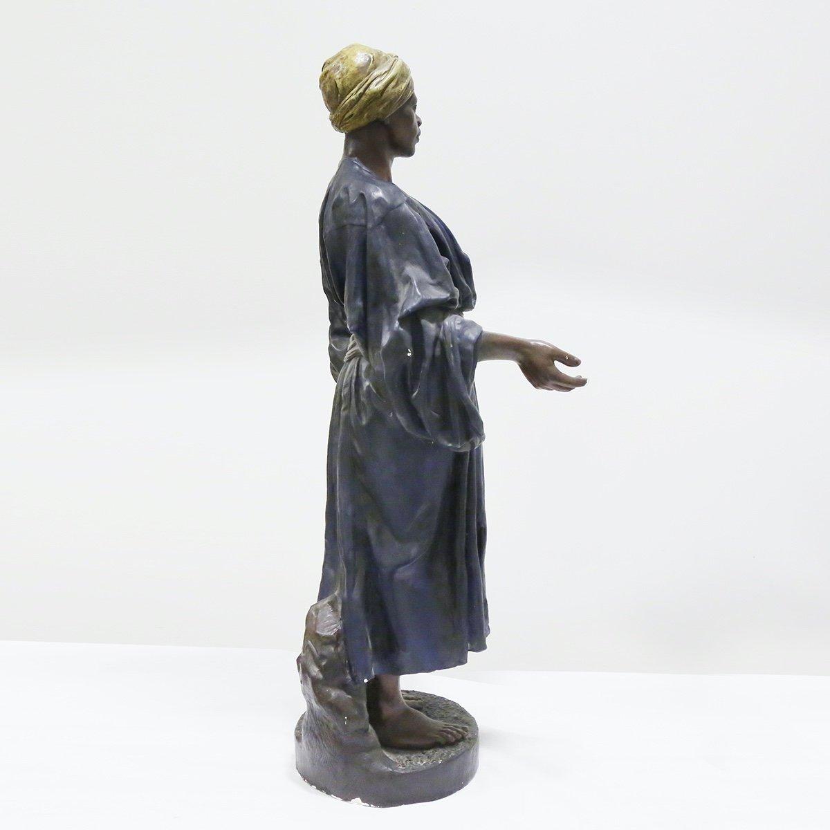 A Large 1930s Orientalist Statue-photo-3