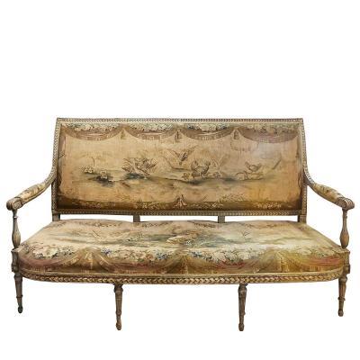 Canapé XVIIIème époque Louis XVI