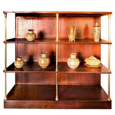 A Draper Shelves From 1880