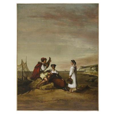 Tableau Romantique XIXème