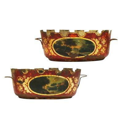 A Pair Of 18h Century Coolers