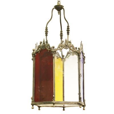 Lanterne Hexagonale XVIIIème
