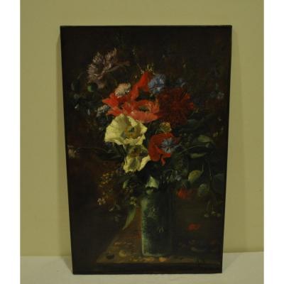 Bouquet Of Flower XVIII Oil On Canvas