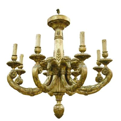 An Empire Style Chandelier