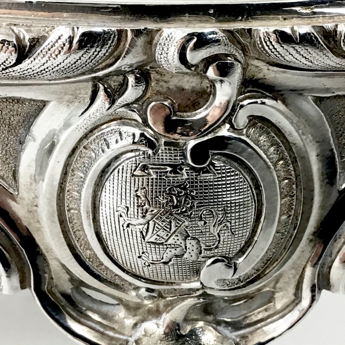 Silver Stove From The Service Of The Count Of Flanders, Philippe De Belgique, 950 \\%