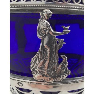 Drageoir Empire En Argent,Paris 1809-1819, Confiturier Ou Sucrier