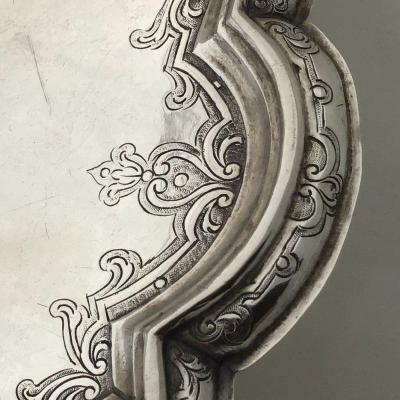 Silver Tazza  Nürnberg Around 1730