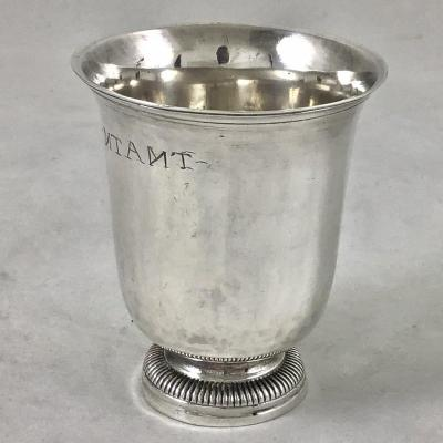 Beaker In Silver, Blois Around 1768