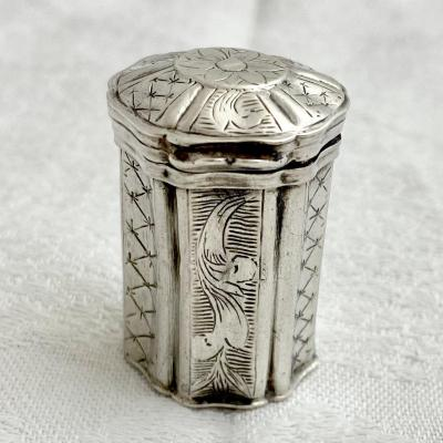 Silver Box, Leuven, 1778, Paulus Ioannes Van Den Bon