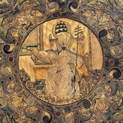 Antependium , XVIIIème Siècle, Broderie , Devant D'autel