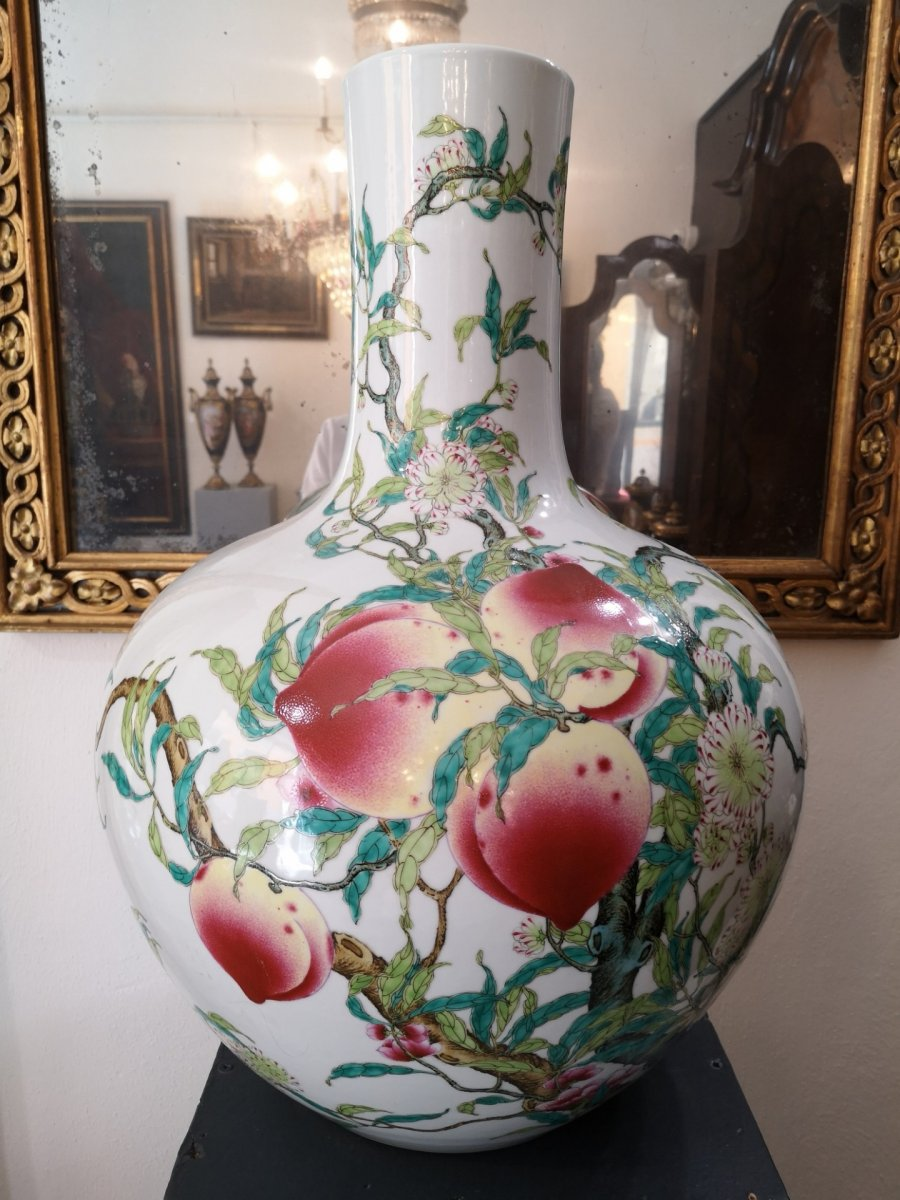 Large Porcelain Vase, China