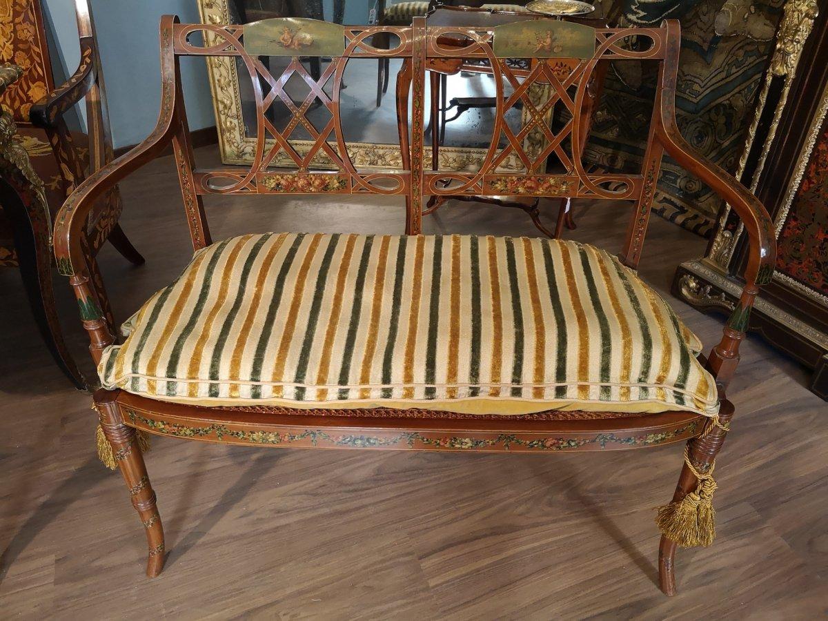 Elegant Sofa, England, Period: 19th Century