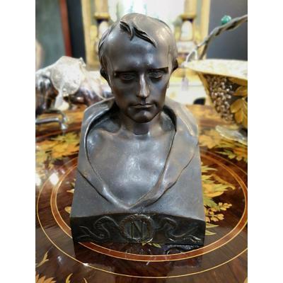 Buste De Napoléon Bonaparte, Sculpteur Vincenzo Vela