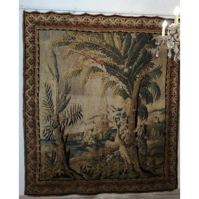 Tapestry, Greenery, End Of 17th Century, Beginning Of 18th Century