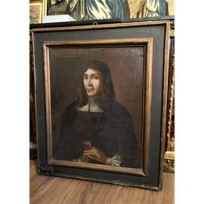 Portrait De Noble,  Daté De 1581