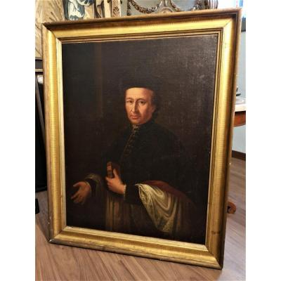 Peinture, portriats, Représentant Le Prélat