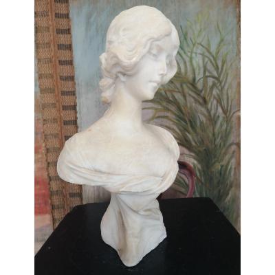 Sculpture, Buste De Femme