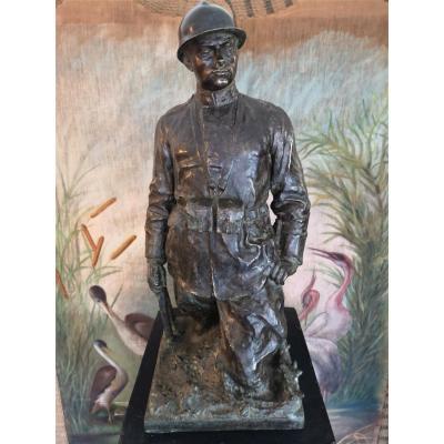 Sculpture En Bronze De Giovanni Battista Alloati