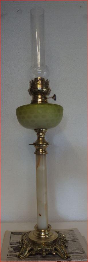 Lampe à Pétrole XIXème Siècle.