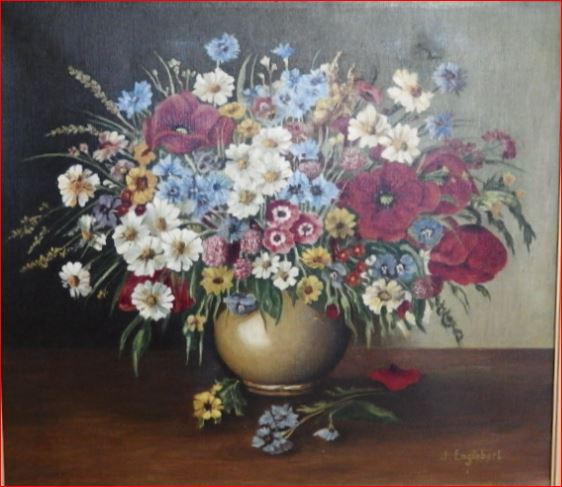 Tableau Bouquet De Fleurs.