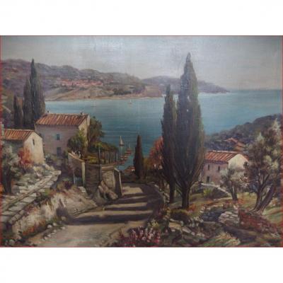 Tableau vue Provençale.