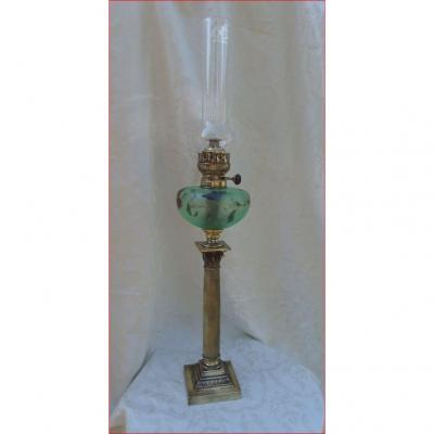 Oil Lamp In Nineteenth Century.