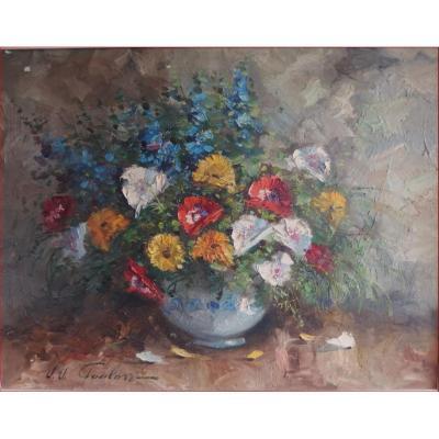 Bouquet De Fleurs (foulon).