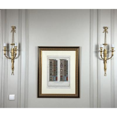 Pair Of Louis XVI Style Wall Sconces