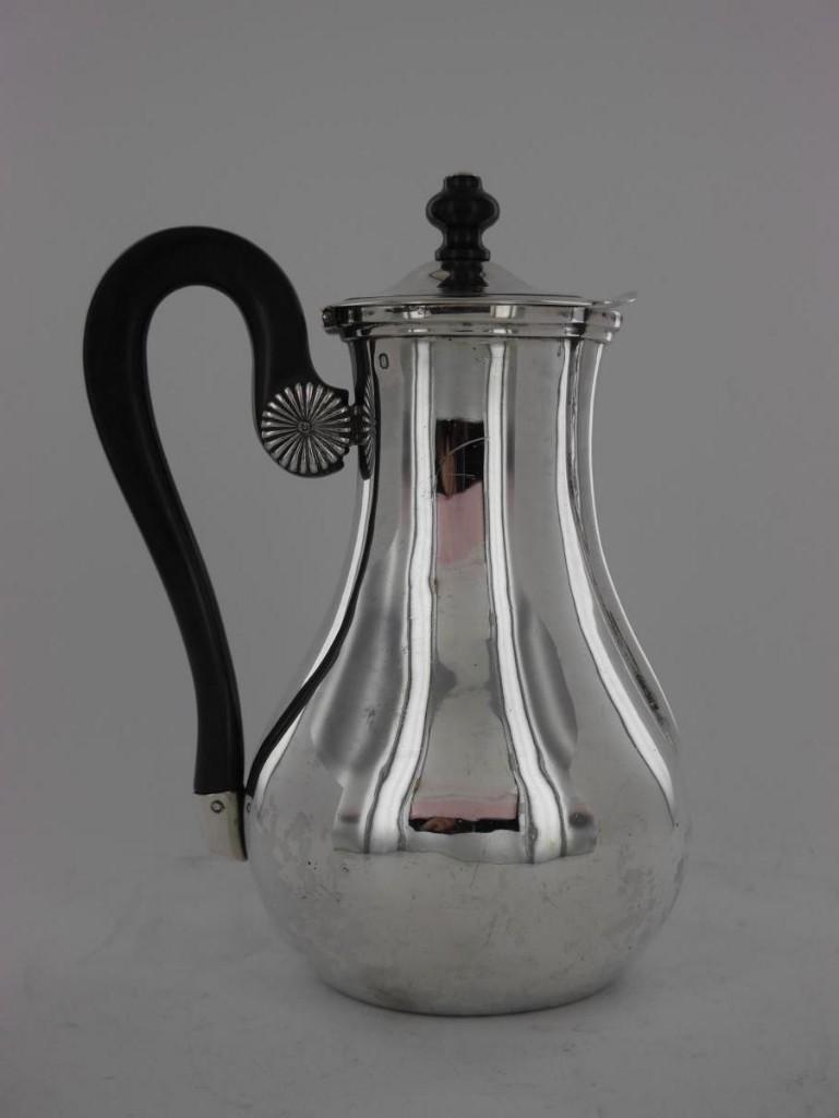 """Verseuse """"marabout"""" En Argent, XIXe siècle"""