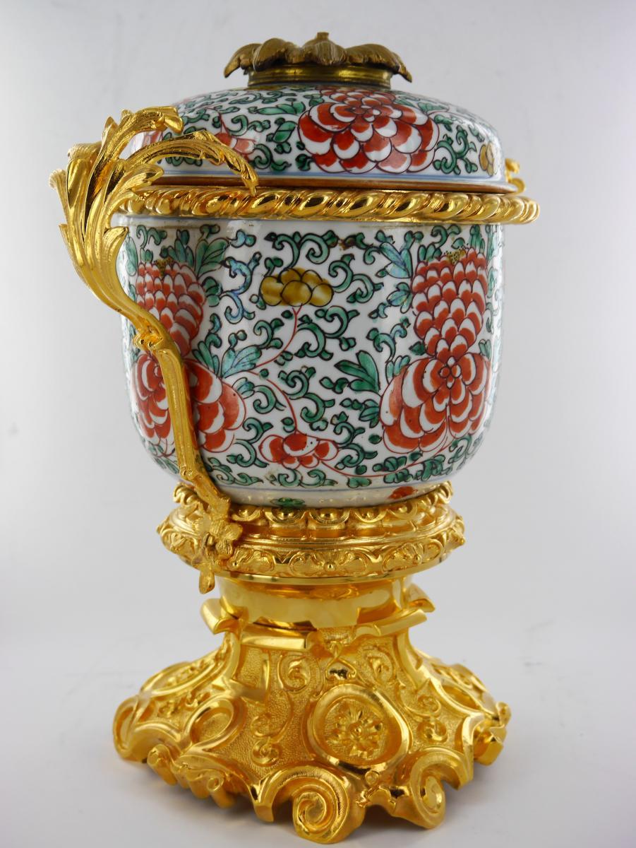 Potiche Chinoise Début XVIIIe