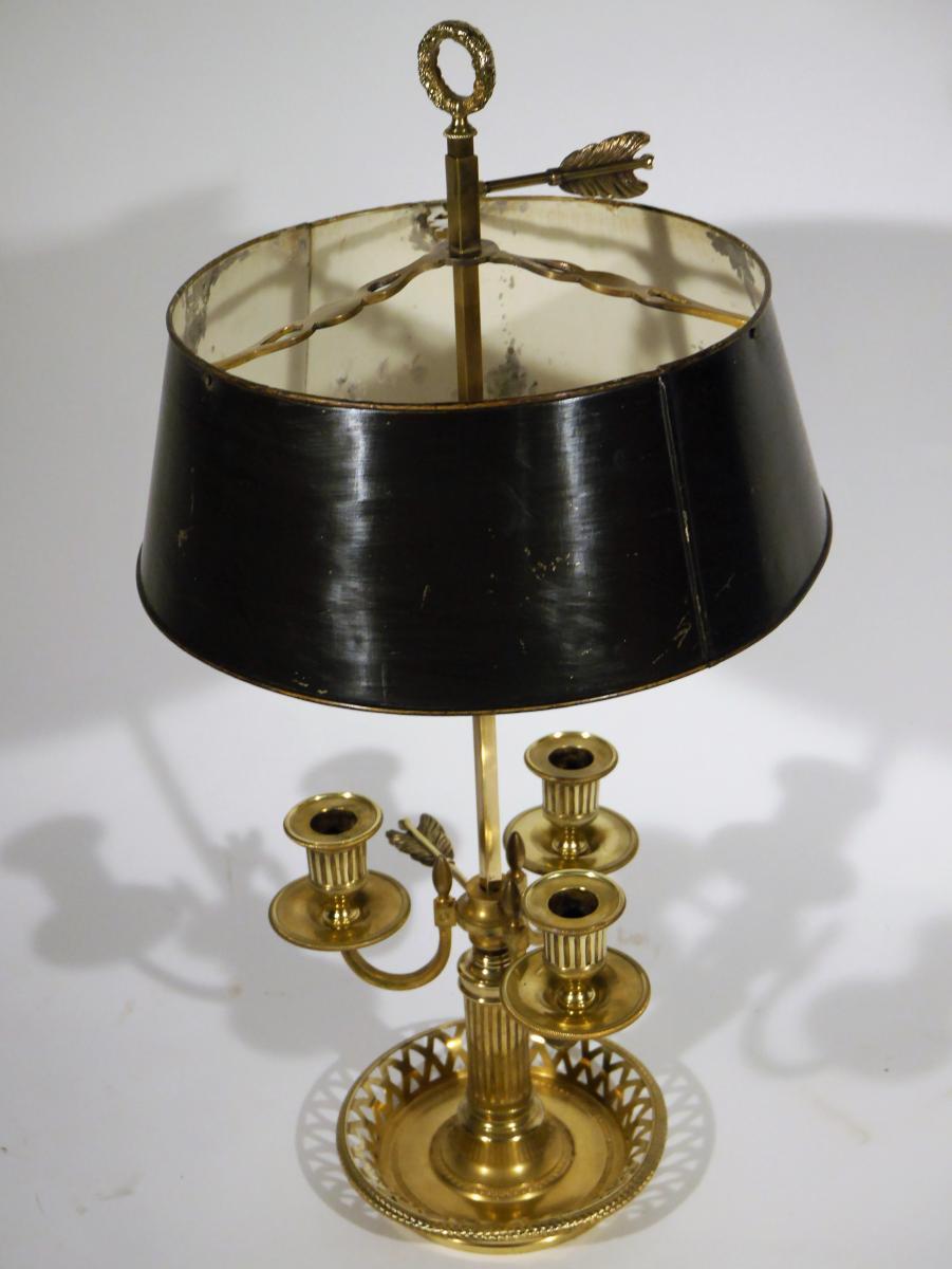 Lampe Bouillotte Directoire, Début XIXe