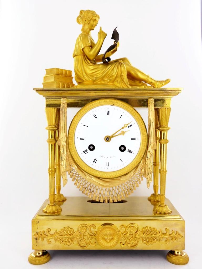 French Consulate / Empire Reading Clock