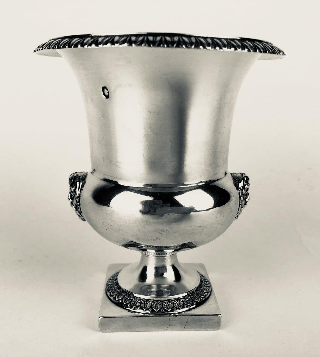 Petit Vase En Argent d'époque Empire, début XIXe