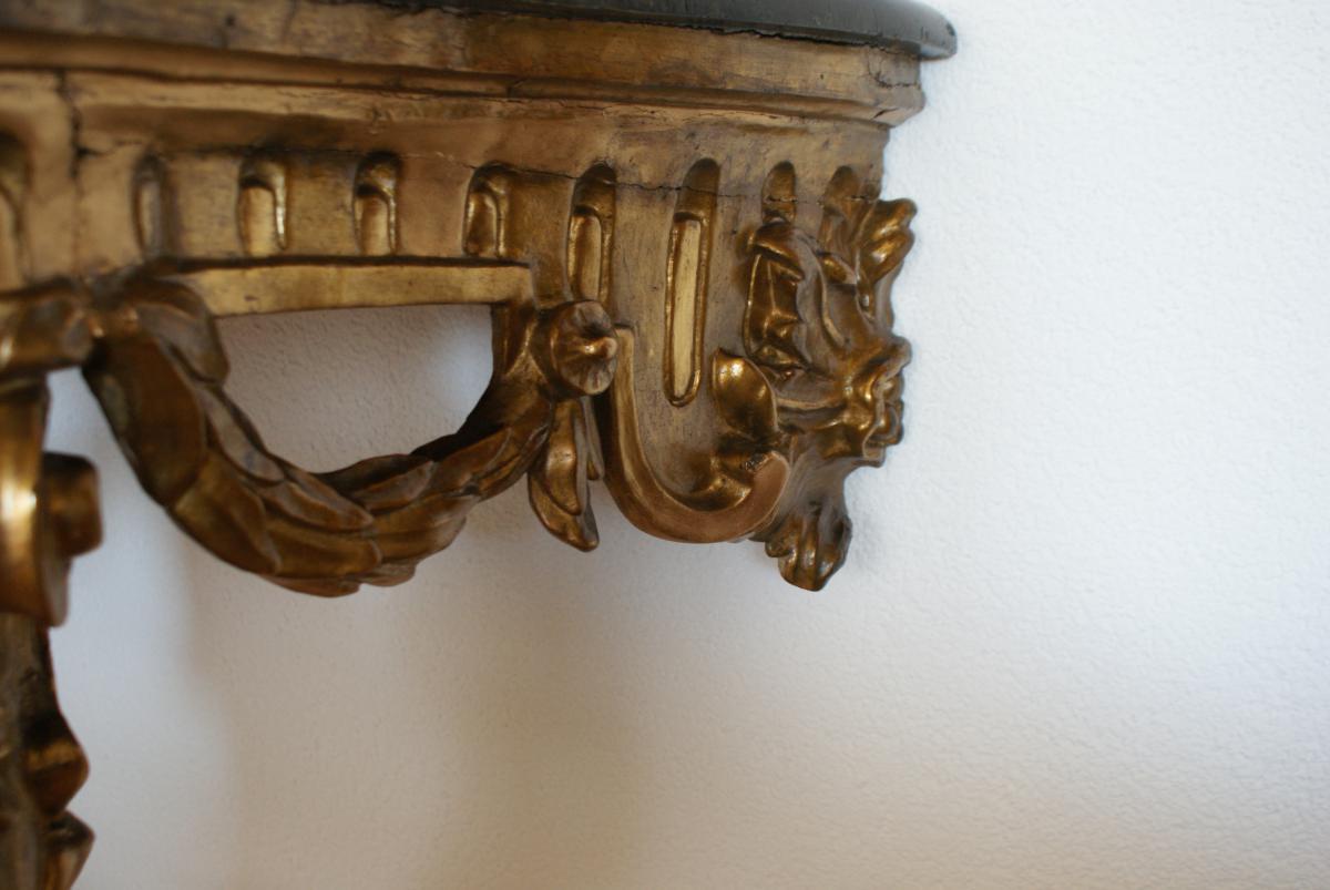 Console Baroque Italienne, XVIIIème-photo-1