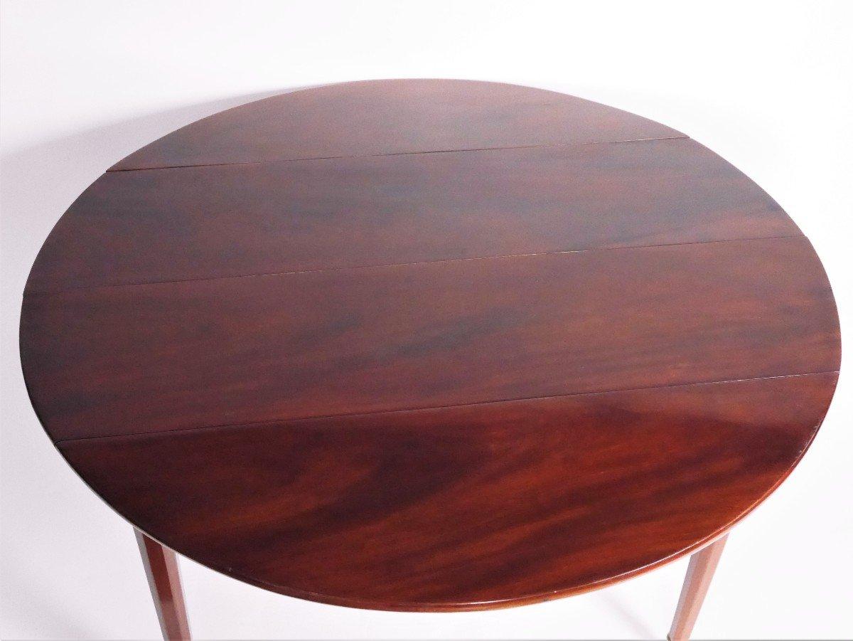 Table de salle à manger En Acajou Fin XVIIIe-photo-2