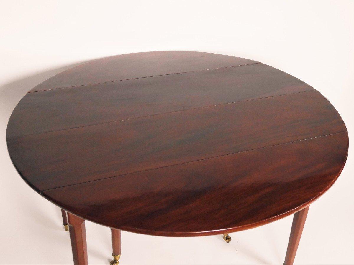 Table de salle à manger En Acajou Fin XVIIIe-photo-3