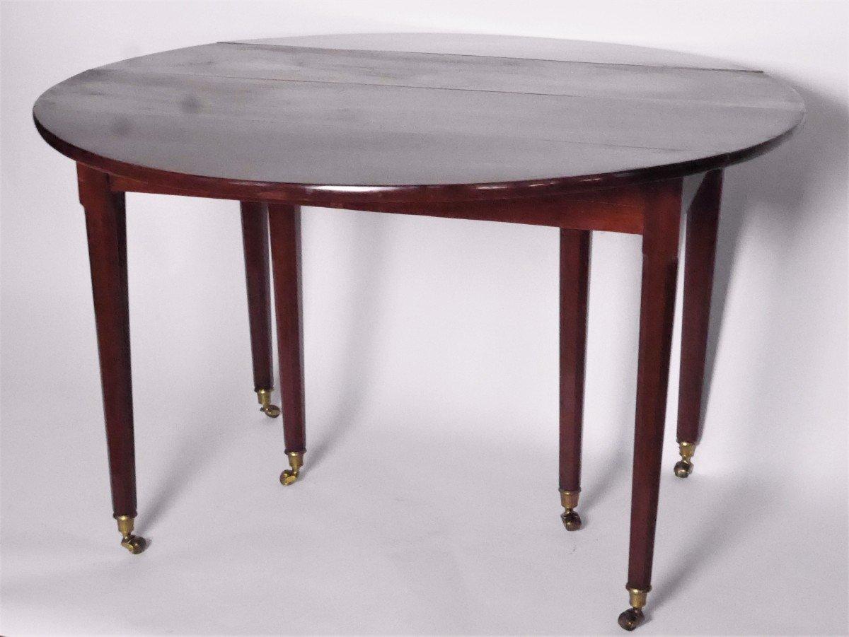 Table de salle à manger En Acajou Fin XVIIIe