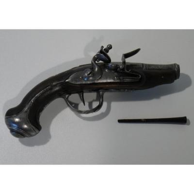 Pistolet De Voyage XVIIIe