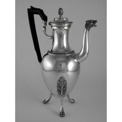 Empire Period Coffeemaker, By Jean-pierre Charpenat, 19th Century
