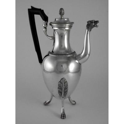 Cafetière d'époque Empire, Par Jean-Pierre Charpenat, XIXe