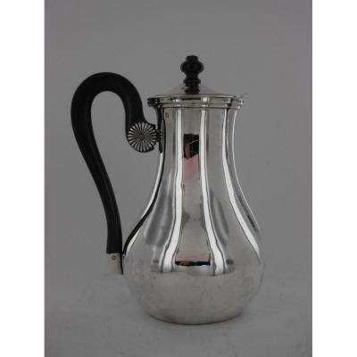 Silver Marabout Jug, 19th Century