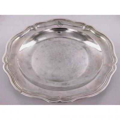 Silver Plate, Louis XV Period, 18th Century