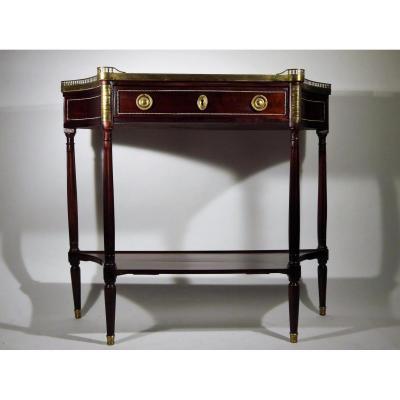 Console en Acajou d'époque Louis XVI, XVIIIe