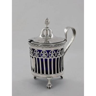 A Silver Mustard Pot Of The Empire Period, Early 19th Century