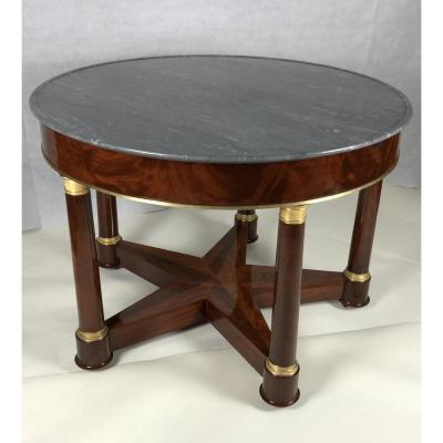 An Important Empire Pedestal Table