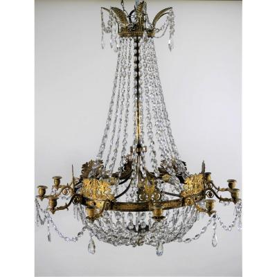 Large Empire Chandelier