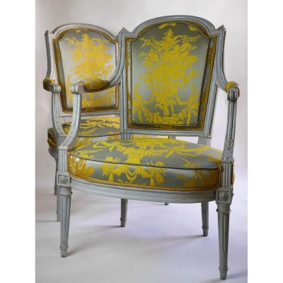 Pair Of Armchairs Stamped Jacob