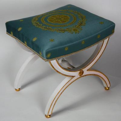 An Empire Period Stool, Early 19th Century
